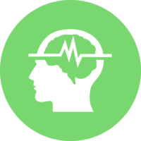 Neurofeedback Green Icon
